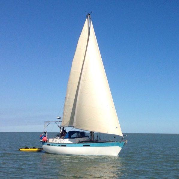 Sailing at Sheerness